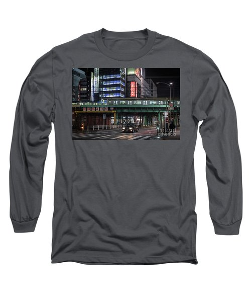 Tokyo Transportation, Japan Long Sleeve T-Shirt