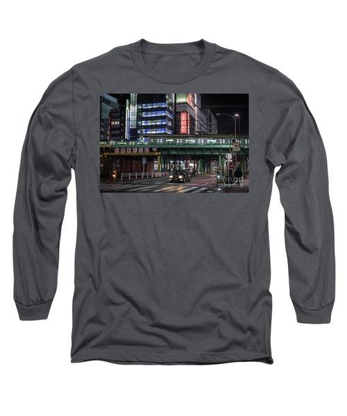 Tokyo Transportation, Japan Long Sleeve T-Shirt