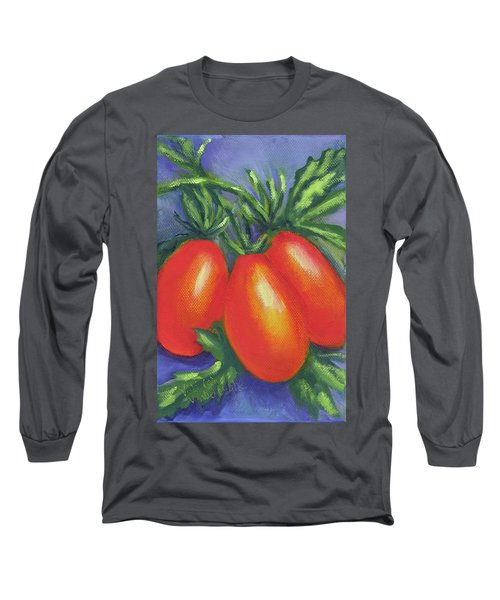 Tomato Seed Packet Long Sleeve T-Shirt