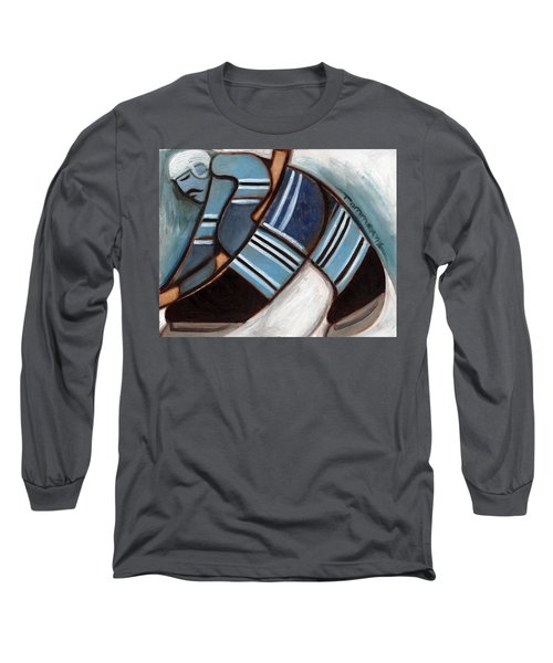 Toronto Hockey Player Art Print Long Sleeve T-Shirt