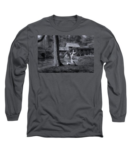 Too Cold For The Ducks Long Sleeve T-Shirt