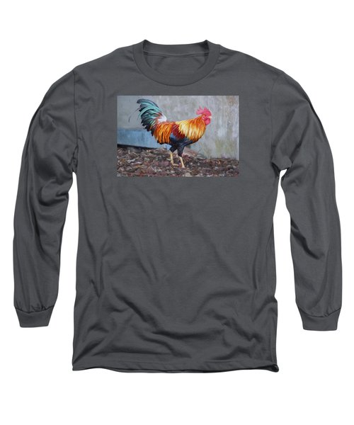 Too Sexy For My Feathers Long Sleeve T-Shirt by Christina Lihani