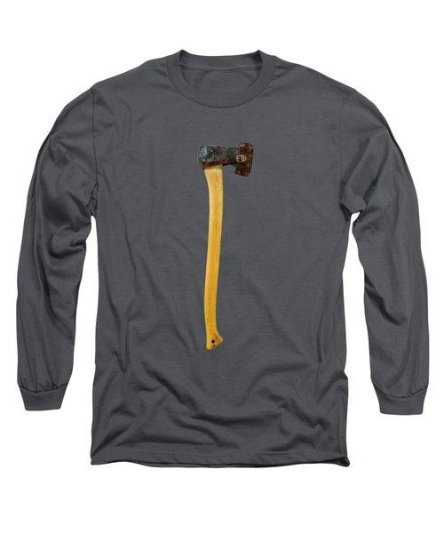 Tools On Wood 11 On Bw Long Sleeve T-Shirt