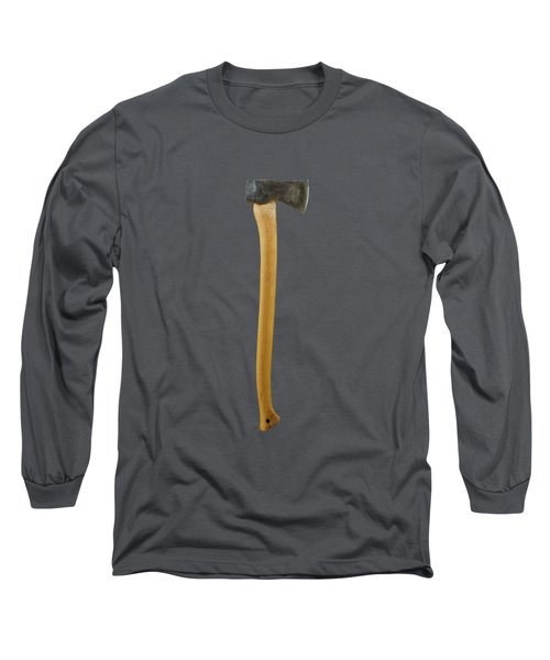 Tools On Wood 12 On Bw Long Sleeve T-Shirt by YoPedro