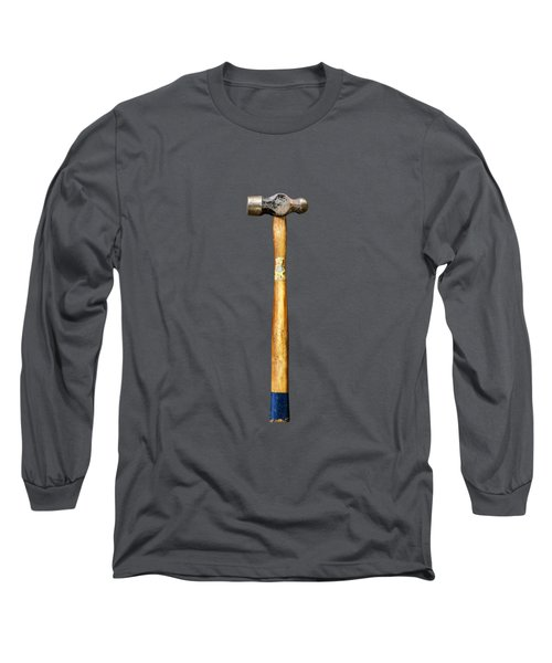 Tools On Wood 51 On Bw Long Sleeve T-Shirt by YoPedro