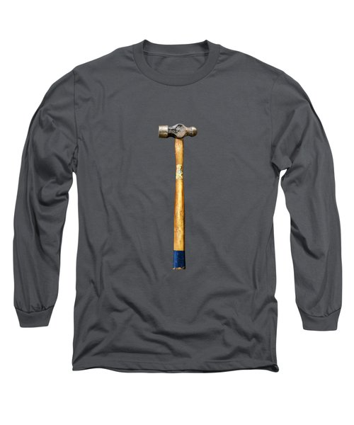 Tools On Wood 51 On Bw Long Sleeve T-Shirt