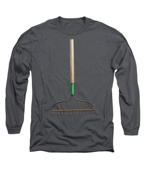 Tools On Wood 9 On Bw Long Sleeve T-Shirt