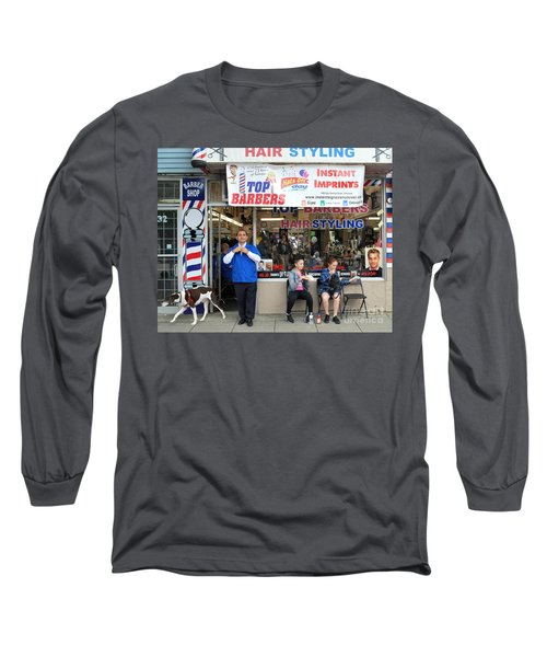 Top Barbers Long Sleeve T-Shirt