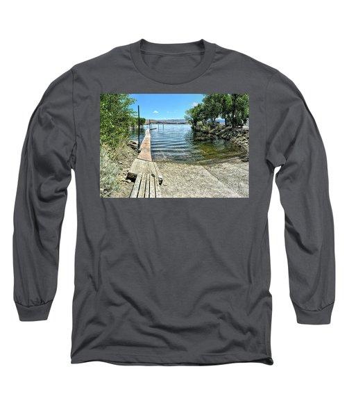 Topaz Landing Boat Launch Long Sleeve T-Shirt