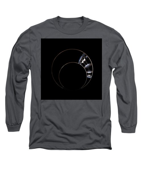 Long Sleeve T-Shirt featuring the digital art Torc by Lea Wiggins