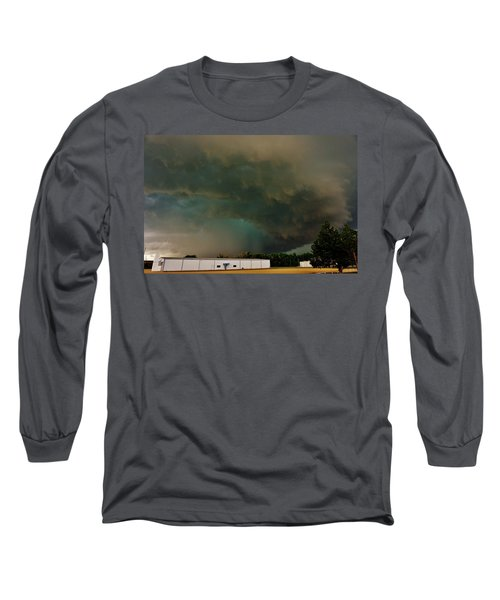 Tornadic Supercell Long Sleeve T-Shirt by Ed Sweeney