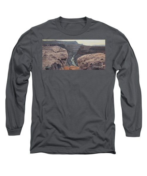 Toroweap Overlook Grand Canyon North Rim Long Sleeve T-Shirt