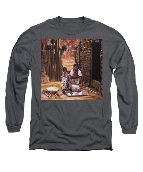 Tortillas De Madre Long Sleeve T-Shirt