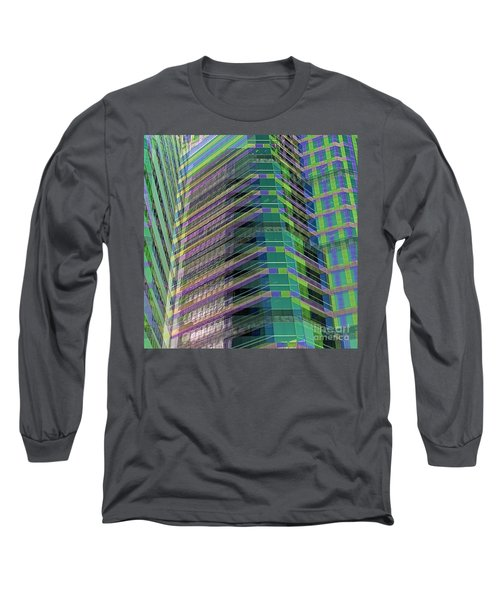 Abstract Angles Long Sleeve T-Shirt