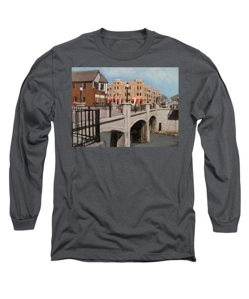 Tosa Village Bridge Long Sleeve T-Shirt