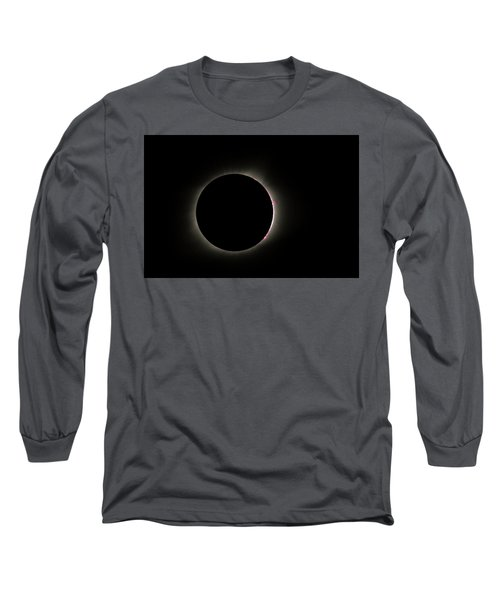 Total Eclipse Solar Flares Long Sleeve T-Shirt