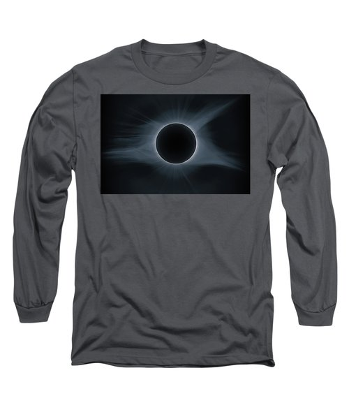 Total Solar Eclipse Corona Long Sleeve T-Shirt