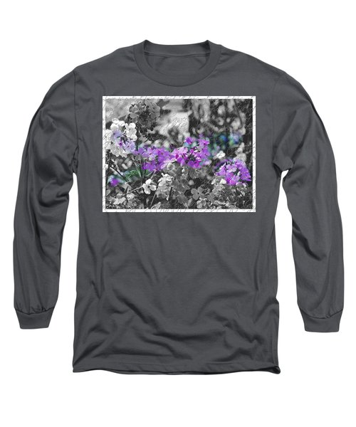 Touch Of Phlox Long Sleeve T-Shirt