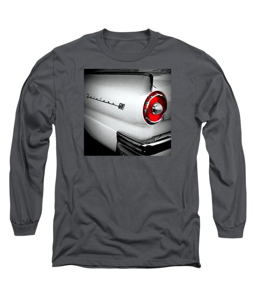 Touch Of Red Long Sleeve T-Shirt by Nick Kloepping