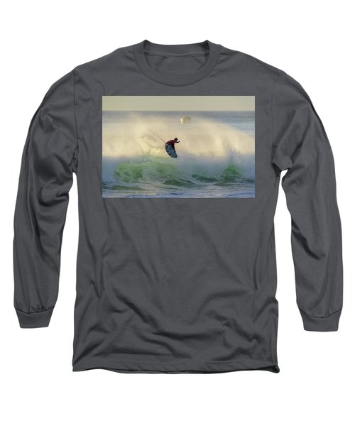 Long Sleeve T-Shirt featuring the photograph Touch The Sun by Thierry Bouriat