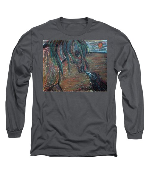 Touching Noses Long Sleeve T-Shirt