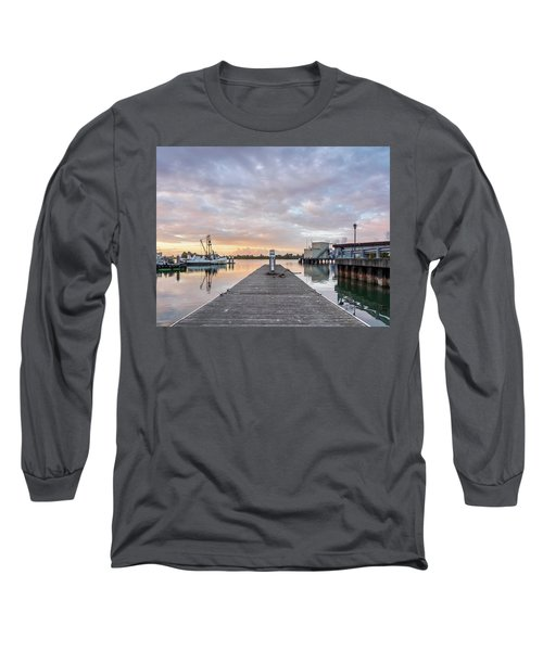 Long Sleeve T-Shirt featuring the photograph Toward The Dusk by Greg Nyquist