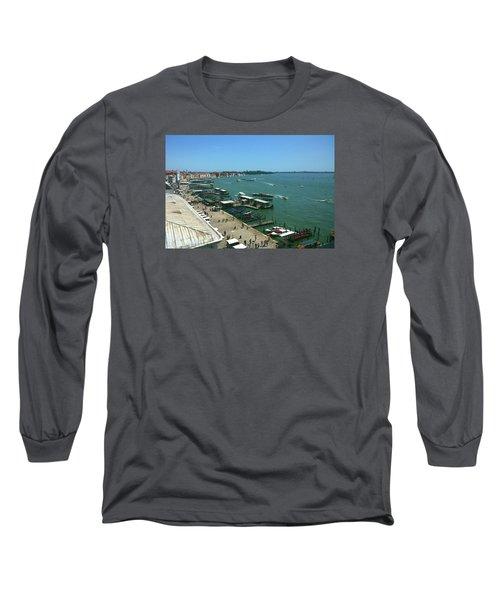 Long Sleeve T-Shirt featuring the photograph Towards Giardino by Anne Kotan