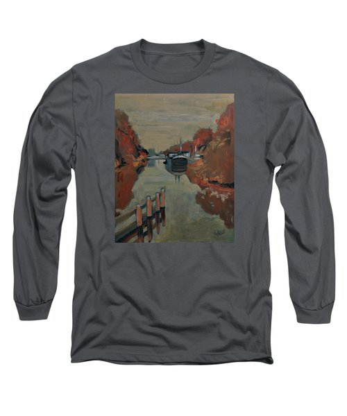 Towards Pius Harbour Long Sleeve T-Shirt by Nop Briex