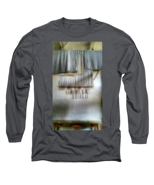 Towels And Sheets Long Sleeve T-Shirt by Isabella F Abbie Shores FRSA