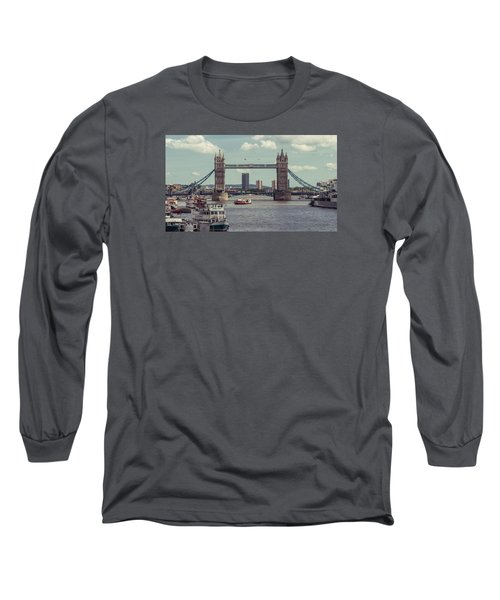 Tower Bridge B Long Sleeve T-Shirt