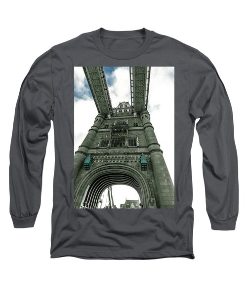 Tower Bridge Long Sleeve T-Shirt by Patrick Kain