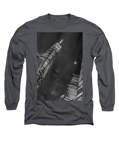 Long Sleeve T-Shirt featuring the photograph Tower Nights by Theodore Jones
