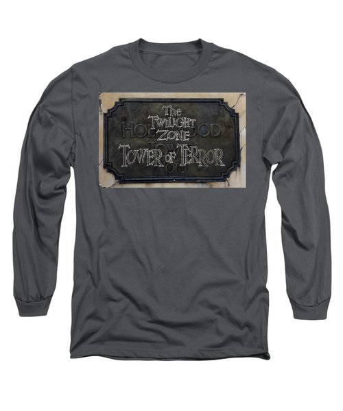 Tower Of Terror Long Sleeve T-Shirt