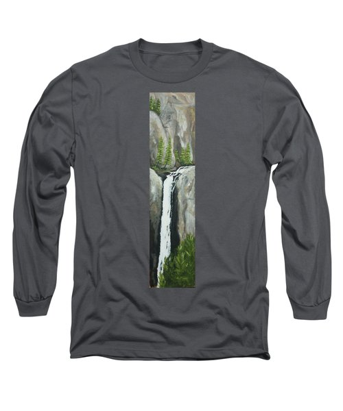 Towering Falls Long Sleeve T-Shirt