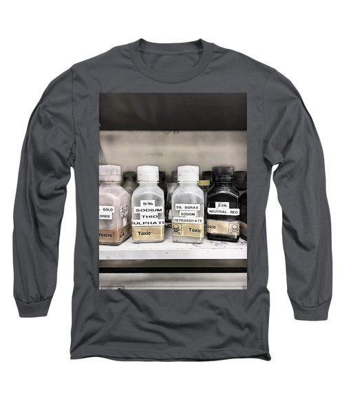 Toxic Lab Chemicals Long Sleeve T-Shirt