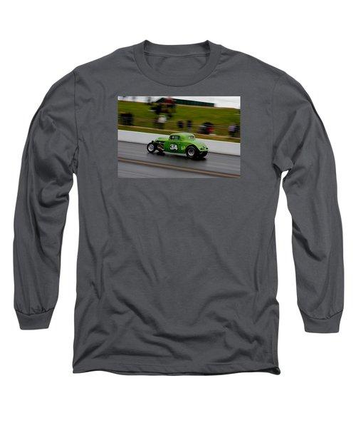 Track Time - Santa Pod Long Sleeve T-Shirt