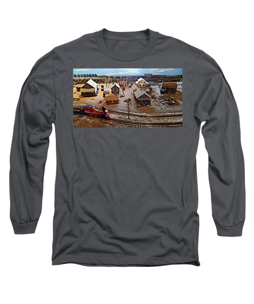 Tracks Long Sleeve T-Shirt by Steve Sperry