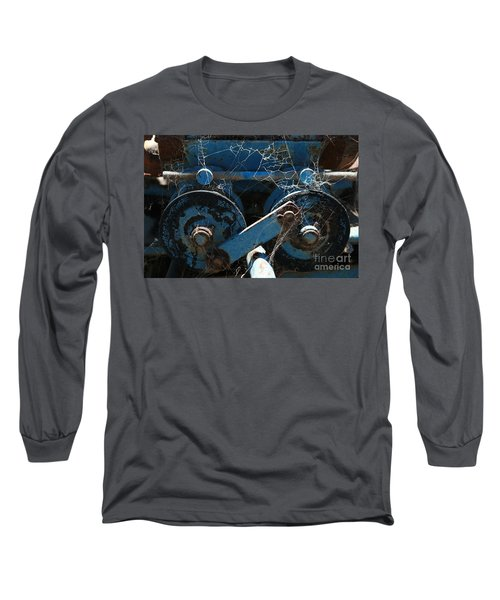 Tractor Engine IIi Long Sleeve T-Shirt by Stephen Mitchell