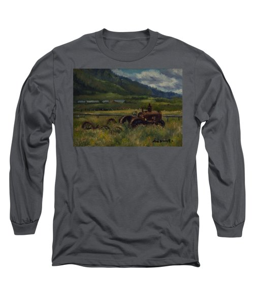 Tractor From Swan Valley Long Sleeve T-Shirt