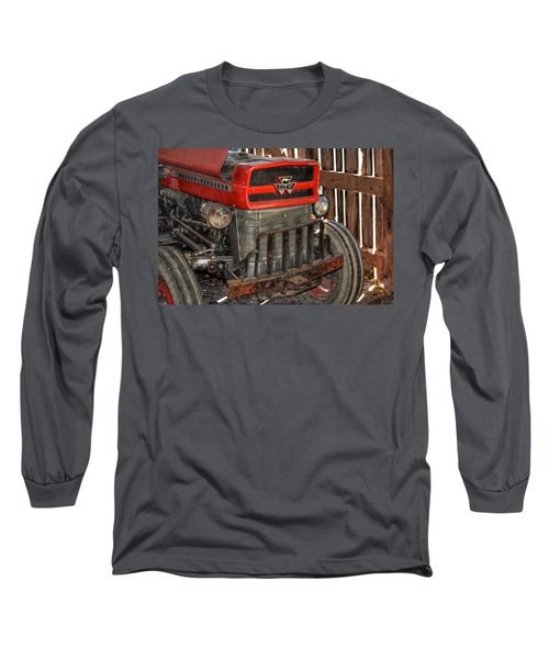 Tractor Grill  Long Sleeve T-Shirt
