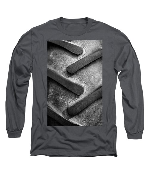 Tractor Tread Long Sleeve T-Shirt