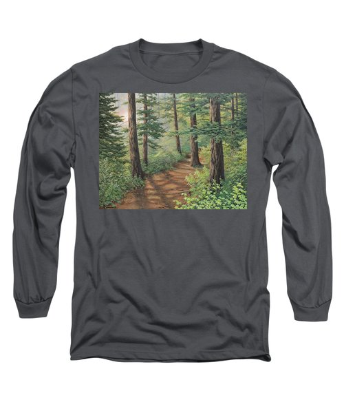 Trail Of Green Long Sleeve T-Shirt