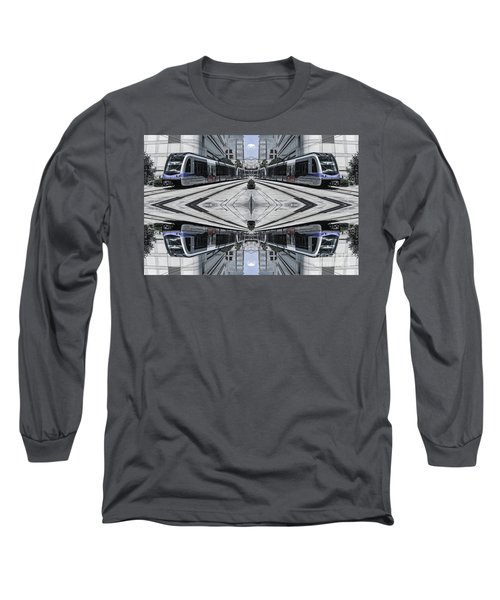 Long Sleeve T-Shirt featuring the photograph Train by Brian Jones