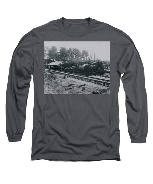 Train Derailment Long Sleeve T-Shirt