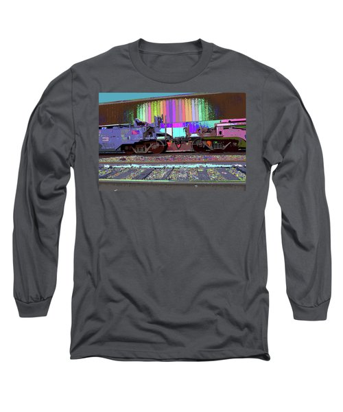 Train Parked Long Sleeve T-Shirt