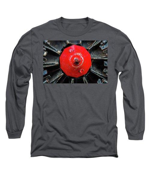 Train Prop Center Long Sleeve T-Shirt