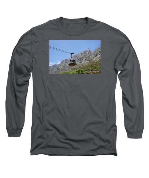 Tramway To Cable Mountain Long Sleeve T-Shirt by Bev Conover