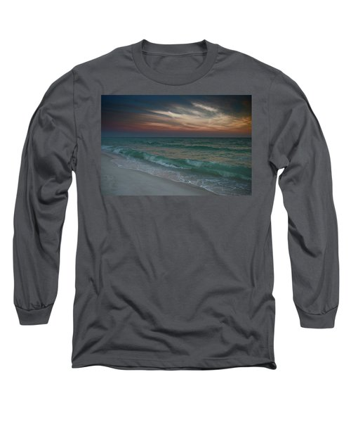 Tranquil Evening Long Sleeve T-Shirt by Renee Hardison