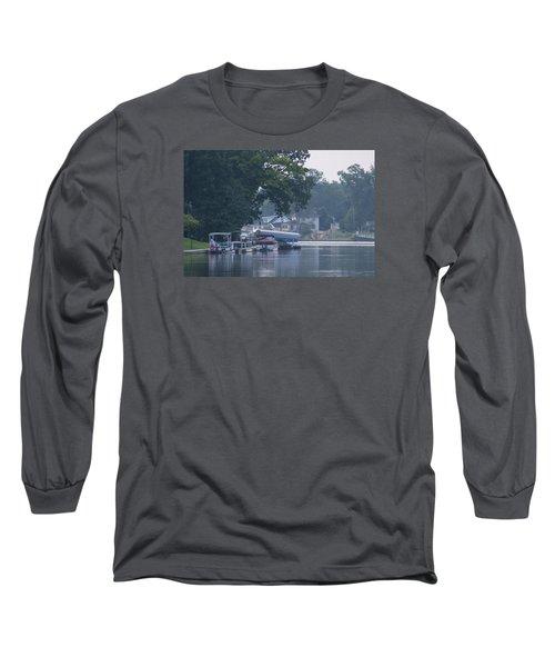 Tranquil River Long Sleeve T-Shirt