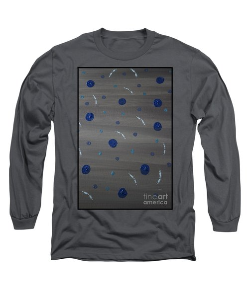 Tranquil Acrylic Abstract Long Sleeve T-Shirt